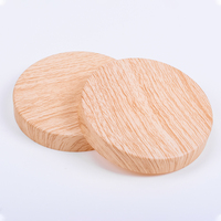 Customized wooden lid with gasket ring for jar