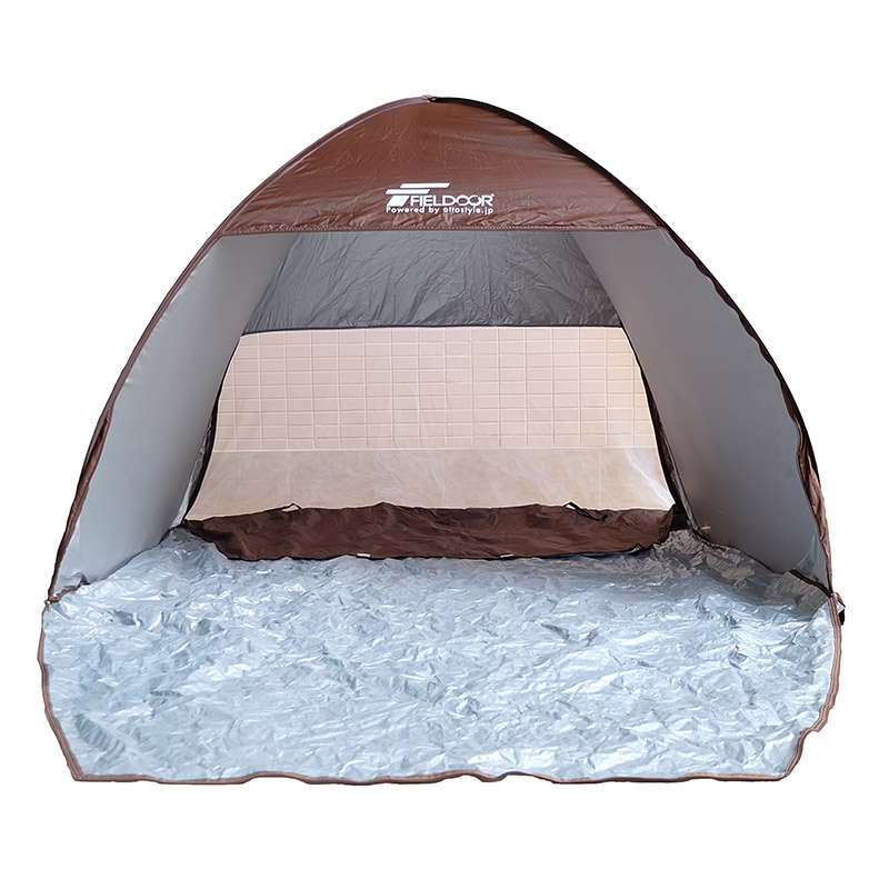 Competitive Price Brown Easy Beach Tent For Travel