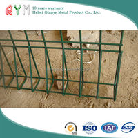 China products high quality round top garden wire fence