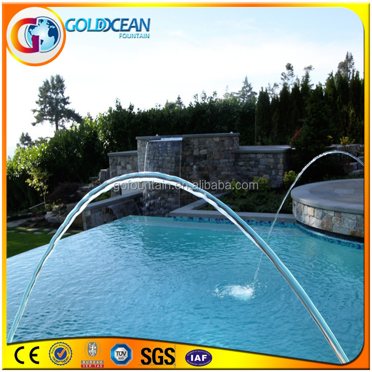 Swimming Pool Decoration Drinking Water Fountains Jumping Water Fountain
