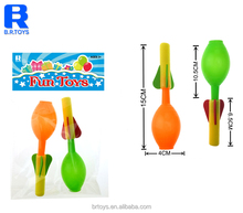 Cheap foam air pump rocket toys 4 assorted for kids hobbies with EN71