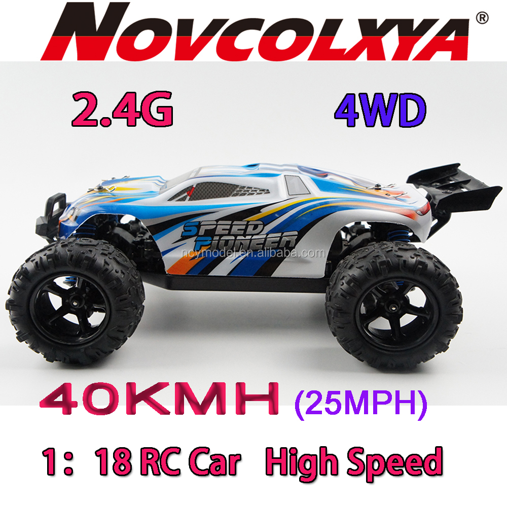 Factory TOYS Ready to Run RC Car 1/18 Scale Monster Truck 2.4ghz Ready to remote control rc trucks