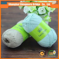 china cotton yarn companies shingmore bridge hot sale factory price dyed cotton yarn in high quality