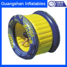 custom design fun toy Inflatable water pool roller wheel