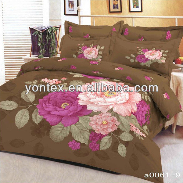 Cotton Fancy Reactive Printed Bedspreads from Chinese Suppliers