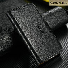 Best Quality Cow Leather For Samsung Galaxy S5 Wallet Leather Cases