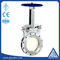 wafer 316 stainless steel knife gate valve