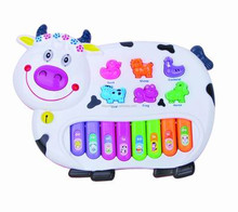 Kids Toy Cow Musical Electronic Organ Keyboard