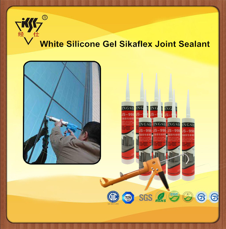White Silicone Gel Sikaflex Joint Sealant