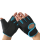 Custom anti-slip outdoor fitness sport racing gloves weight lifting gym gloves