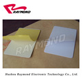 CR80 Size Blank Plastic PVC Adhesive Paper-Backed Card