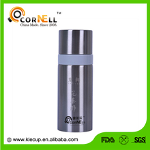 double wall personalized wide mouth for office use bottle vacuum flask with nice stainless tea sieve