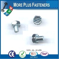 Made in Taiwan Indented Hexagon Washer Head SEMS Screw