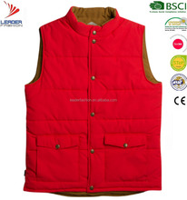 Men's Cotton Photographer Hunting Shoot Fishing padded Puff Vest