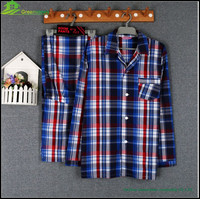 Hot sales satin sexy MEN hot sleepwear for pajamas and promotiom, grid nightwear for men 2PCS/SET , GVBS0004