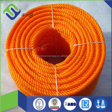3-strand plastic Twisted pe rope for longline fishing