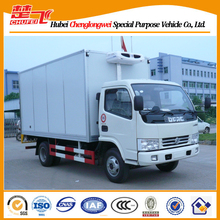 Dongfeng 90HP 15CBM refrigerated cold room van truck