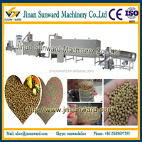 Large capacity automatic fish feed manufacturing machine floating fish food machine