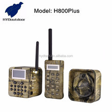 loud sound quail hunting voice with 2pcs 50w speakers with timer and remote controller h800plus