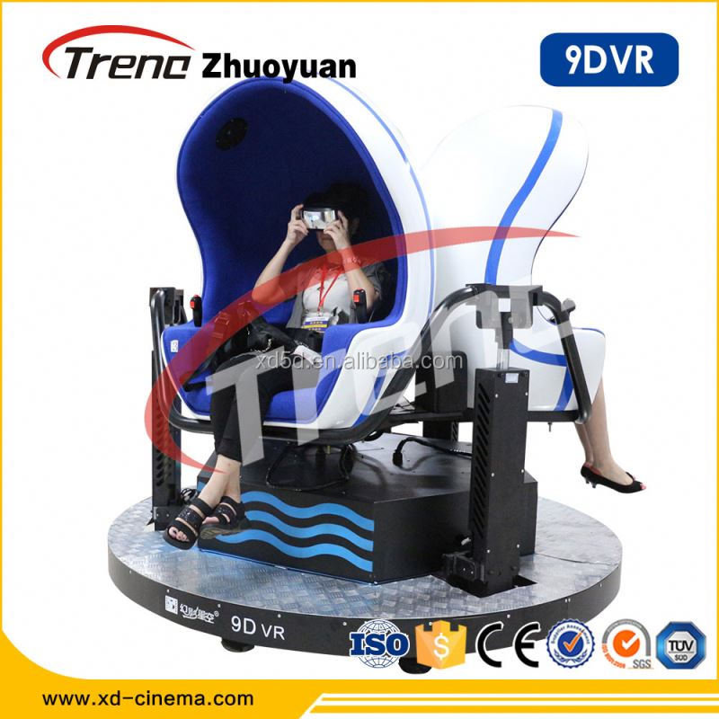 9d virtual reality simulator,5D/7D/ 9D/XD vr 3 egg chair motion cinema, VR game equipment
