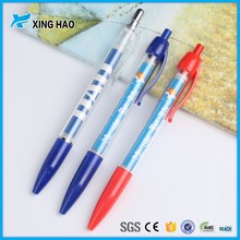 OEM hot sale cheap promotional adverting banner ball pen with plastic material