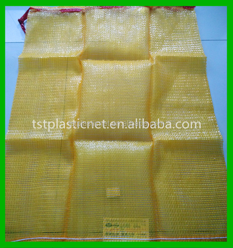 Draw string mesh bag for potato with good price