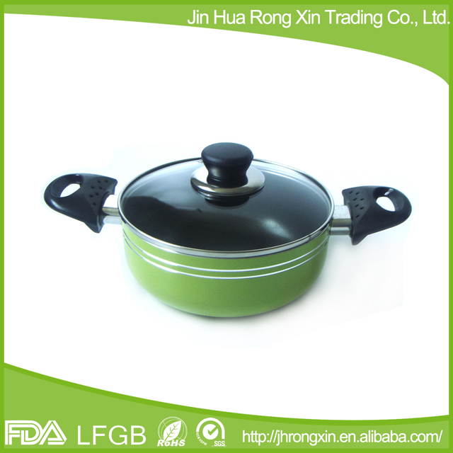 2015 High quality wholesale fashion small capacity stock pot / pomotion pot