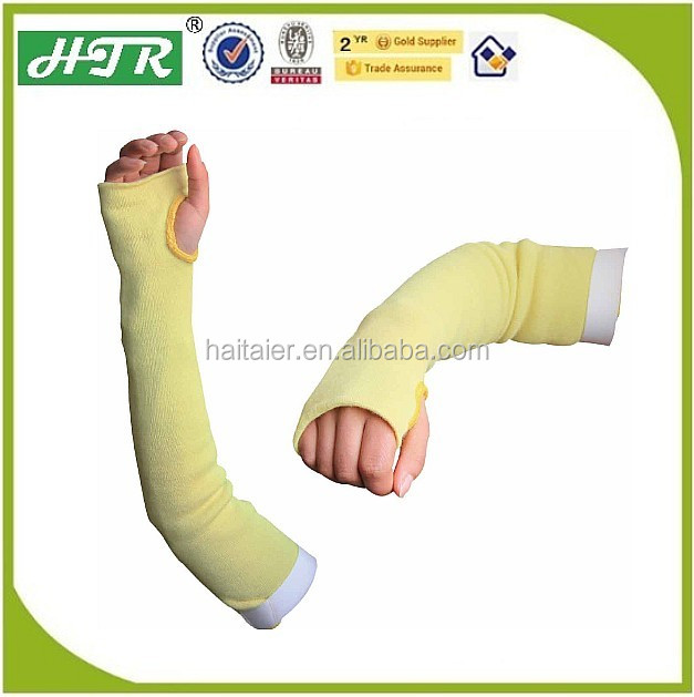 HTR Arm Protection Cut Resistant Sleeves/Heat Resistant Long Sleeve with thumhole