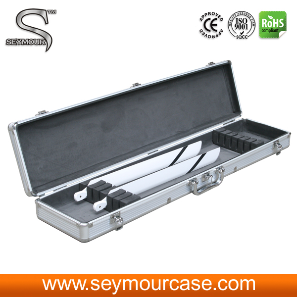 Case With Fm Transmitter Aluminum Barber Carrying Case RC Aluminum Aircraft Case