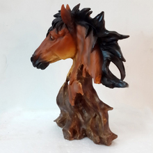 new arrival polyresin souvenir crafts horse head promotional gift sculptures for home decoration