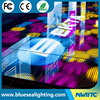 New idea 12X12 pixels interactive led portable dance floor for sell