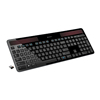 Solar charge low-carbon life 2.4Ghz Logitech K750 wireless keyboard