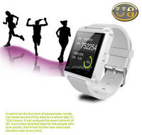 Contemporary hot-sale touch screen gsm watch cell phone