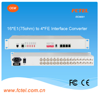 with isolation 16E1 (75/120ohm)-4gigabit ethernet 3g modem,12vdc to 230vac converter