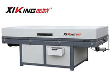 Vacuum membrane press machine for PVC,veneer,hot transfer,leather