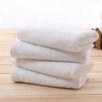 China supplier wholesale cheap disposable white cotton hotel towel