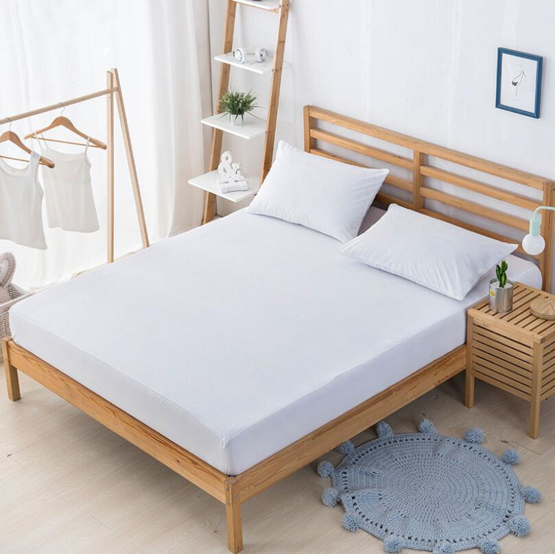 High Quality White Reusable Knitted Plain Mattress Cover - Jozy Mattress | Jozy.net