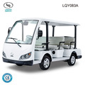 Electric Sightseeing mini bus with 8 seaters CE certificate LQY083A