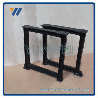 Factory Wholesale Wrought Iron Style Beautiful Adjustable Metal Table Legs