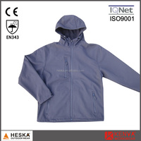 High Quality outdoor softshell jacket mens with hood waterproof