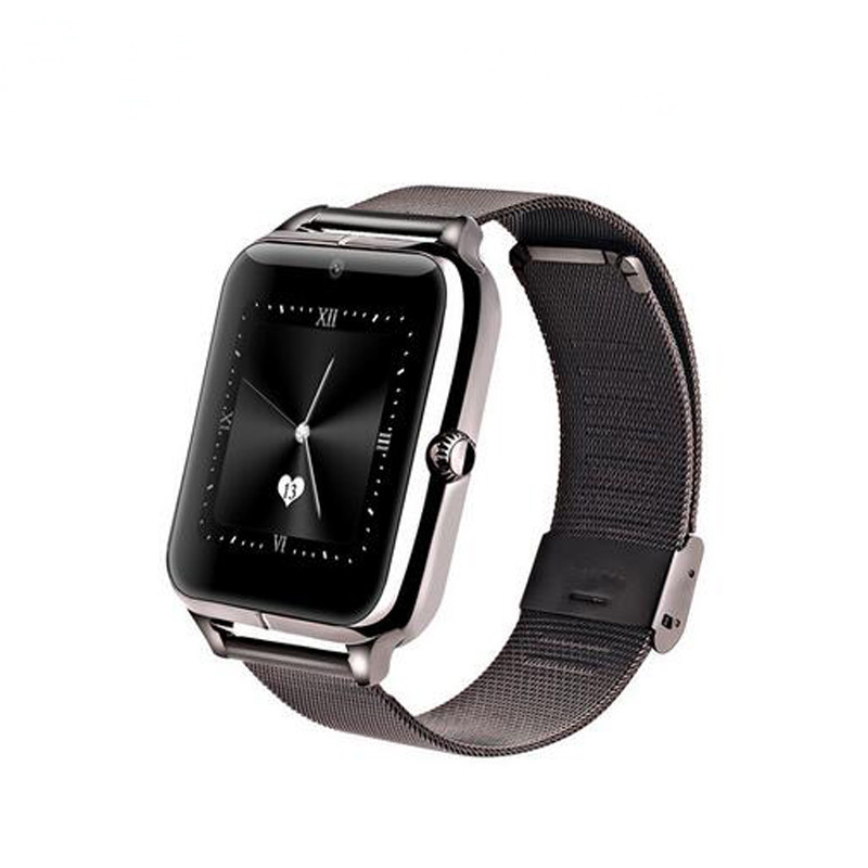 2017 Top selling bluetooth metal z50 smart watch factory price for ios android 4.0 smart watch phone user manual