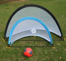 Portable Metal Soccer Goal and Ball for Kids