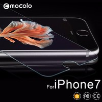 Mocolo tempered glass for iphone 7 0.33mm 2.5D for iphone 7 glass with retail packaging For iphone 7 glass protector