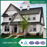 Hot sale prefabricated slope roof house