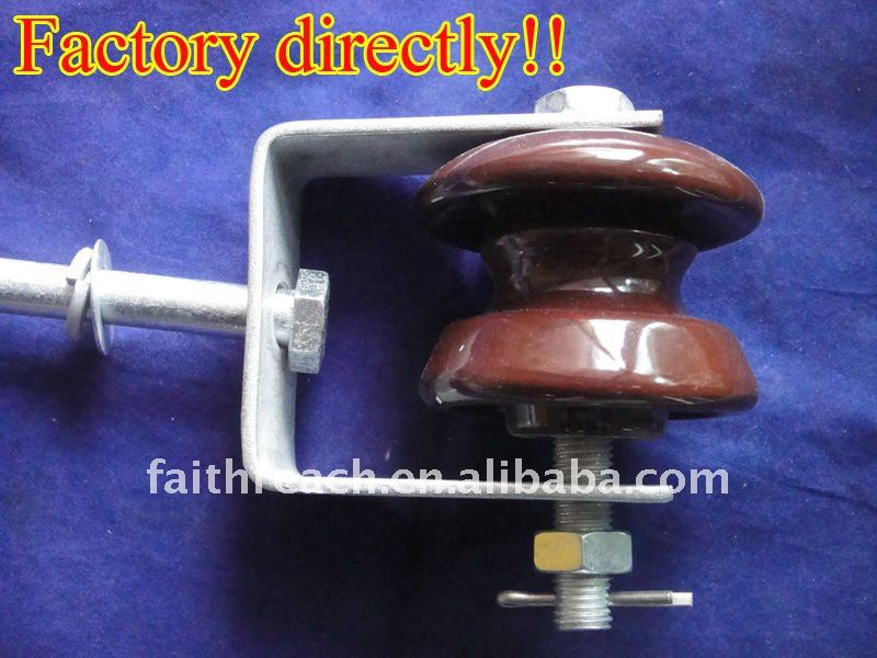 Low price!!! LV ceramic shackle electrical insulator ED-2B