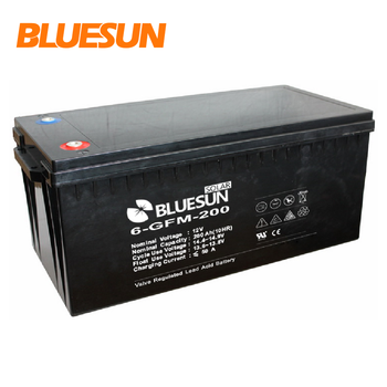 Solar agm/gel battery 12v 200ah solar battery storage for 12v solar power storage system
