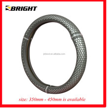 SBRIGHT Soft Diamond Steering Wheel Cover/GRY