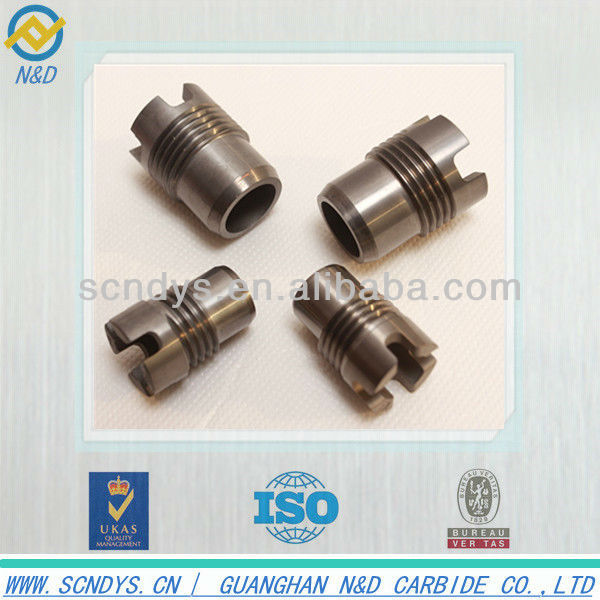 Sandblasting high quality YG8 tungsten carbide nozzle