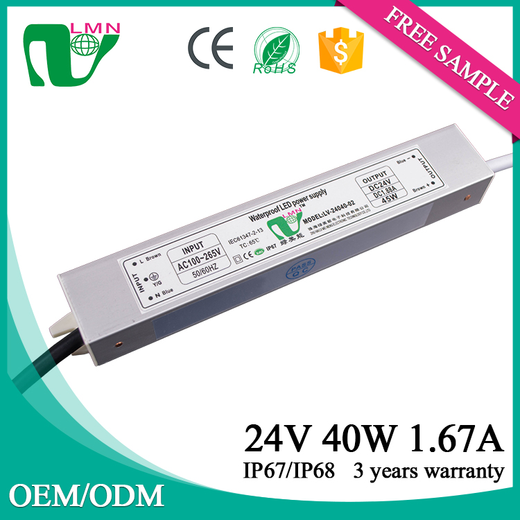 24V 40W cheap price led power supply led driver
