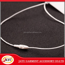 Factory sale Cheap price custom small simple garment plastic hang tag cord, string lock,